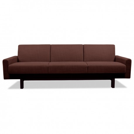 Couch Dunkelrot