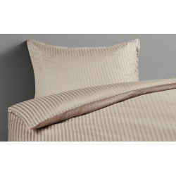 Damast-Bettwäsche ¦ beige