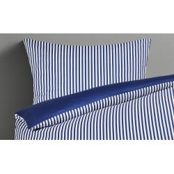 LAVIDA Satin-Wendebettwäsche Spring Stripes ¦ blau