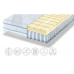 Möve Tonnentaschenfederkern - Matratze Aqua Top T