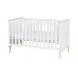 PAIDI Kinderbett 90x200 weiß Ylvie