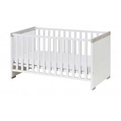 PAIDI Kinderbett 70x140 weiß Kira